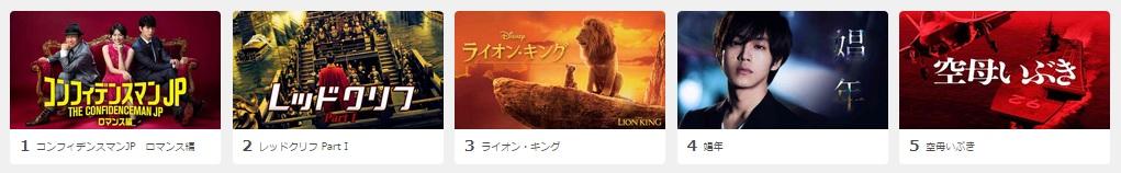 U-NEXT-映画