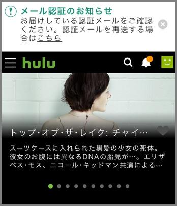 Hulu登録6