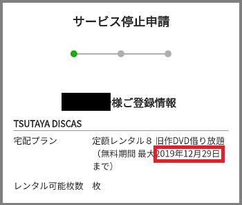 TSUTAYA-DISCAS無料期間